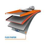 Full Circle International Flex Paper-220 Grit Sand Paper For Flex Edge