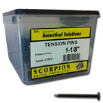 "Scorpion Scorpion 1-1/8"" Tension Pins 5 LB"