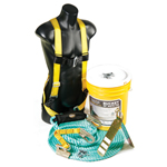 Guardian Fall Protection Fall Protection Kit Bucket of Safe-Tie