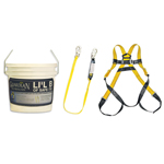Guardian Fall Protection Fall Protection Kit Lil' Bucket of Safe-Tie (Regular size)