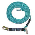 Guardian Fall Protection 25 ft Vertical Lifeline Assembly