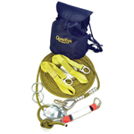 Guardian Fall Protection 60 ft Kernmantle Rope Horizontal Lifeline System