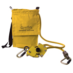 Guardian Fall Protection 82' 4-Person Fiber Rope HLL Kit: Tensioner / 2 Carabiners / Storage Bag
