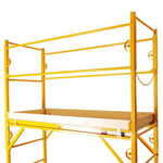 Nu-Wave Manufacturing  Scaffold Guard Rail Kit  w/ Toeboards