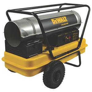135,000 BTU/HR Forced Air Kerosene Heater