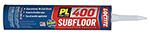 PL 400 HD Subfloor & Deck Adhesive 10 OZ.
