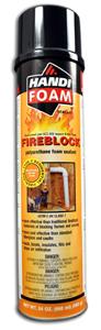 Fomo Handi-Foam Fireblock Gun Foam Sealant 24 oz.