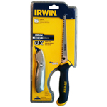 Irwin Industrial Tools Jab Saw / Fixed Utility Knife Combo Set