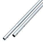 "Kraft Tool Company 6' Anodized Aluminum 1-3/8"" Swaged Handle"