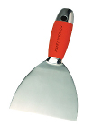 "Kraft Tool Company Stainless Steel Knife 6"" 1 Piece Blade & Handle with Grip"