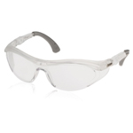 Lift Safety Flanker Safety Glasses - Clear/Clear
