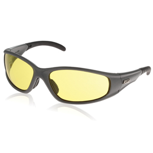 Strobe Safety Glasses - Silver/Yellow