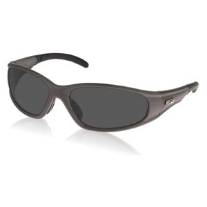 Strobe Safety Glasses - Silver/Smoke