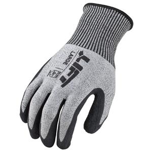 Cut Level 4 Fiberwire Latex Glove (M)