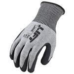 Lift Safety Cut Level 4 Fiberwire Latex Glove (M)