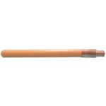"Magnolia Brush Manufactures Magnolia Metal Threaded Wood Handle - 60"""