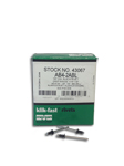 "Alcoa Fastening Systems Alcoa Aluminum Rivet Black - 1/8"" - [500]"