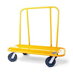 Nu-Wave Manufacturing  Drywall Cart w/4 Swivel 8 in Hi-Tech Casters
