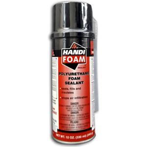 Fomo Handi-Foam Straw Foam Sealant 12 OZ.
