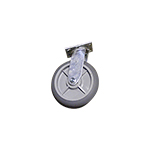 "Perry Manufacturing, Inc. 8"" Swivel Caster with Directional Lock"