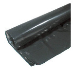 Poly-America, LP Black Poly Sheeting - 4 mil, 10' x 100'