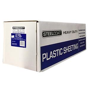 4 MIL Clear Plastic Sheeting - 16' X 100'