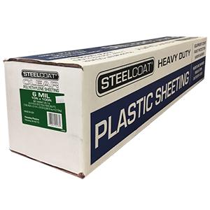 6 MIL Clear Plastic Sheeting - 10' X 100'