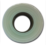 "Poly-Tak 2-1/2"" X 300' White Mesh Tape"