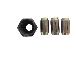 Rotomite Collet Kit with Nut [1/4