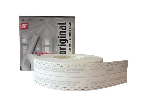 Strait Flex Drywall Tape : Strait flex original corner tape with slots quot x at tsw
