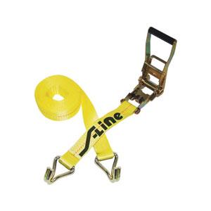Ratchet Strap W/Double J Hooks - 2