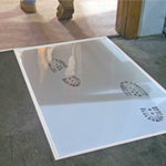 "Surface Shields 25.5"" X 31.5"" Step and Peel Clear [30]"