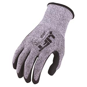 Cut 4 Level Staryarn Crinkled Latex Gloves (M)