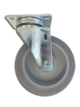 Toter, Inc. Small Rubber Caster for 1/2 Cubic Yd. Trash Truck