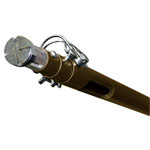 Forest Group, Inc. 6-12 ft Eye Lag Pole with Adjustable Clip and Head