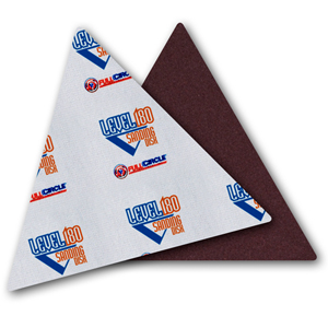 Level 180 Sandpaper Triangles - 220 Grit [25]