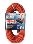 U.S. Wire & Cable 100' Extension Cord - Orange