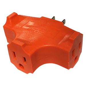 Triple Outlet POW-R-BLOCK Adapter