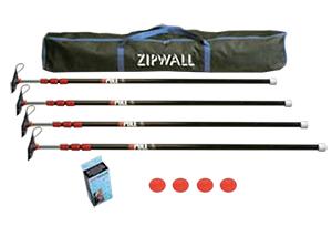 ZipPole™ 4-Pack Kit