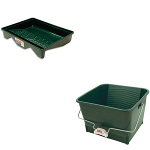 Paint Trays and Buckets