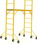 Nu-Wave Manufacturing  Scaffold Outrigger Kit W/O Casters [4]