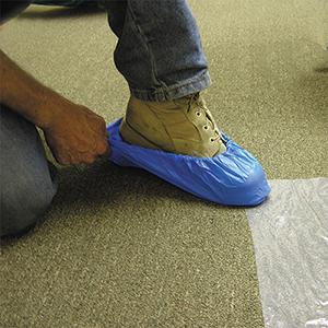 Plastic 3 mil Shoe Bootie [50]