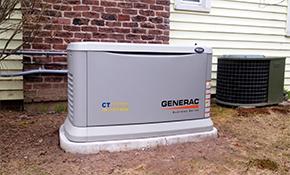 $8,500 for Installation of a Generac Home Standby 22KW Generator