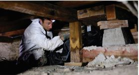 $59 for $500 Credit Toward Foundation Repairs Including Inspection and Evaluation of Crawlspace