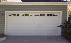 $1,795 for Insulated Garage Door and LiftMaster - Installation Included