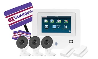 $375 for Installation of a 3 HD Indoor Camera Home Security System
