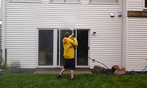 $325 Home Exterior Pressure Washing