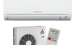 $2,350 for a 9,000 BTU Ductless Mini Split Air Conditiong System Installation