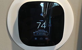 $319 for a Ecobee Wifi Thermostat Installed
