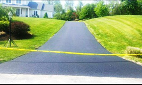 $2,100 for Asphalt (Paved) Driveway Replacement Including Demolition, Materials, and Labor
